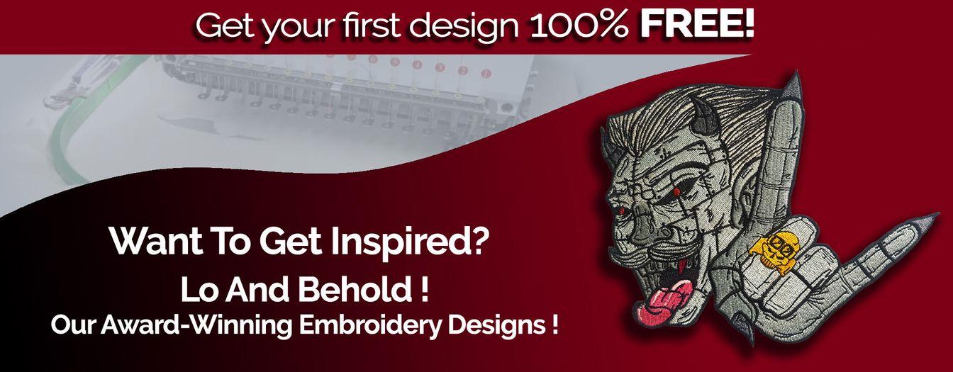 Award Winning Embroidery Designs