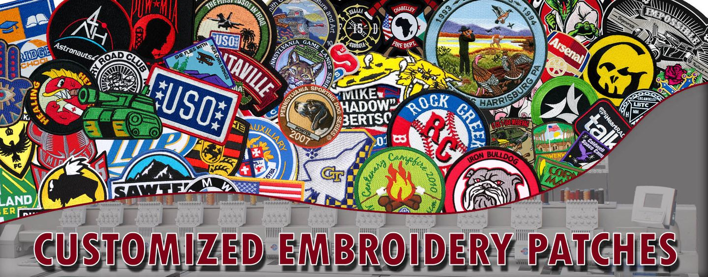 Customized Embroidery Patches